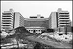 Unfinished abandoned hospital